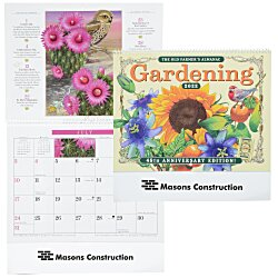 View a larger, more detailed picture of the The Old Farmer s Almanac Calendar - Gardening - Spiral