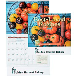 View a larger, more detailed picture of the The Old Farmer s Almanac Calendar - Recipe - Stapled