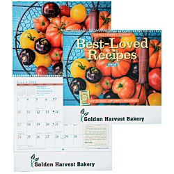 View a larger, more detailed picture of the The Old Farmer s Almanac Calendar - Recipe - Spiral