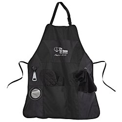 View a larger, more detailed picture of the Grill Master BBQ Apron - 24 hr