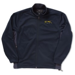 View a larger, more detailed picture of the Page & Tuttle Soft Shell Color Block Jacket - Men s