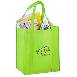 View a larger, more detailed picture of the Reusable Grocery Bag - 13 x 12