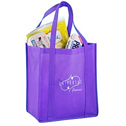 View a larger, more detailed picture of the Reusable Grocery Bag - 13 x 12 - 24 hr