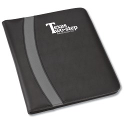 View a larger, more detailed picture of the Crescent Padfolio