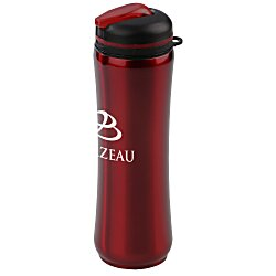 View a larger, more detailed picture of the Slim Stainless Steel Bottle - 28 oz