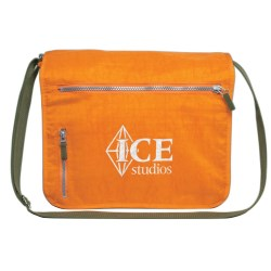 View a larger, more detailed picture of the Expandable Messenger Laptop Bag - Closeout