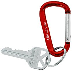 View a larger, more detailed picture of the Carabiner Key Tag