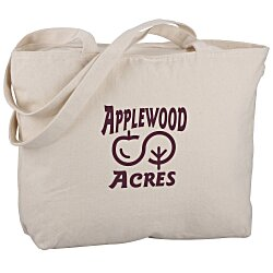 View a larger, more detailed picture of the Signature Cotton 12 oz Zippered Tote