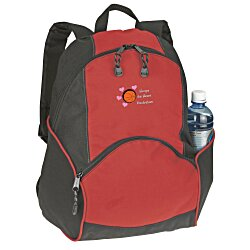 View a larger, more detailed picture of the On the Move Backpack - Embroidered