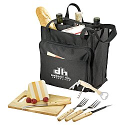 View a larger, more detailed picture of the Modesto 7-Piece Picnic Carrier Set