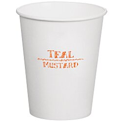 View a larger, more detailed picture of the Compostable Solid Cup - 12 oz - Low Qty