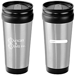 View a larger, more detailed picture of the ID Stainless Steel Tumbler - 15 oz