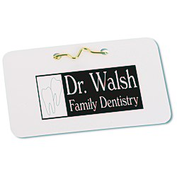 View a larger, more detailed picture of the Laminated ID Badge - 2 1 4 x 3 1 2