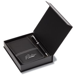 View a larger, more detailed picture of the Executive Super Jotter Set with Contempo Pen