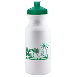 View a larger, more detailed picture of the Sport Bottle w Push Pull Cap - 20 oz - 24 hr