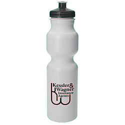 View a larger, more detailed picture of the Sport Bottle w Push Pull Cap - 28 oz - 24 hr