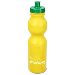 View a larger, more detailed picture of the Sport Bottle with Push Pull Cap - 28 oz - Colors - 24 hr
