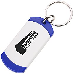 View a larger, more detailed picture of the On The Edge Key Chain - Opaque