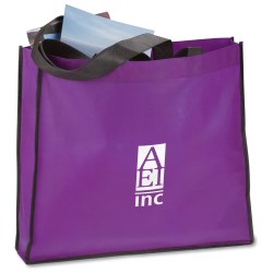 View a larger, more detailed picture of the Polypropylene Oversized Tote Bag - Closeout