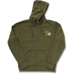 View a larger, more detailed picture of the Raw Edge Full-Zip Hooded Sweatshirt - Men s