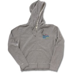 View a larger, more detailed picture of the Raw Edge Full-Zip Hooded Sweatshirt - Ladies