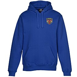 View a larger, more detailed picture of the J America 10 oz Premium Hooded Sweatshirt