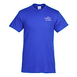 View a larger, more detailed picture of the Adult 5 2 oz Cotton T-Shirt - Screen