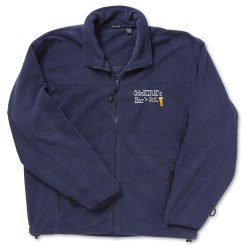 View a larger, more detailed picture of the Heavyweight Microfleece Jacket - Solid - Men s