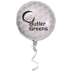 View a larger, more detailed picture of the Mylar Balloon - 18 - Golf Ball
