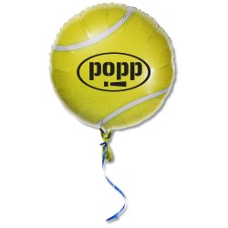 View a larger, more detailed picture of the Mylar Balloon - 18 - Tennis Ball