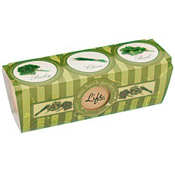 View a larger, more detailed picture of the 3 PC Herb Garden Set - 24 hr