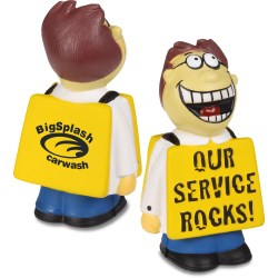 View a larger, more detailed picture of the  Service Rocks Stress Reliever - 24 hr