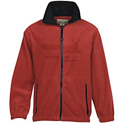 View a larger, more detailed picture of the Telluride Signature Fleece Jacket - Laser Etched