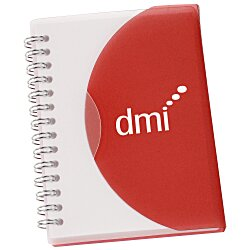 View a larger, more detailed picture of the Spiral Curve Notebook - 5-1 4 x 4-1 4 - 24 hr