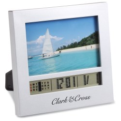View a larger, more detailed picture of the Picture Frame w Clock - Small