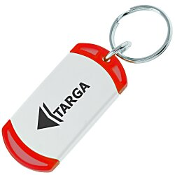 View a larger, more detailed picture of the On The Edge Key Chain - Translucent - 24 hr