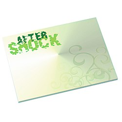 View a larger, more detailed picture of the Bic Sticky Note - Designer - 3x4 - Swirl - 50 Sheet