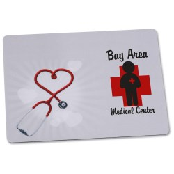 View a larger, more detailed picture of the Bic Firm Mouse Pad - 6 x 8 - Heart