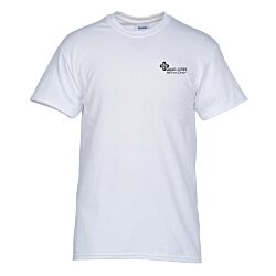 View a larger, more detailed picture of the Gildan 5 3 oz Cotton T-Shirt Men s - Screen White