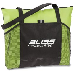 View a larger, more detailed picture of the Solutions Zippered Tote
