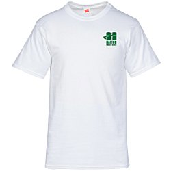 View a larger, more detailed picture of the Hanes ComfortSoft Tee - Men s - Screen - White
