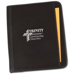 View a larger, more detailed picture of the Method Zippered Padfolio