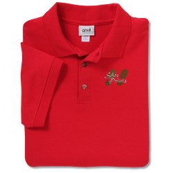 View a larger, more detailed picture of the Anvil Stain Repel Sport Shirt - Men s - Color