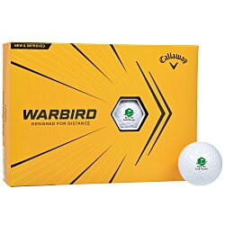 View a larger, more detailed picture of the Callaway Warbird Golf Ball - Dozen - 24 hr