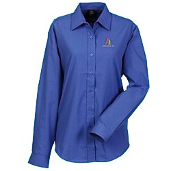 View a larger, more detailed picture of the Broadcloth Value Shirt - Ladies - Solid