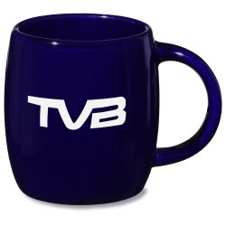 View a larger, more detailed picture of the Sleek Barrel Mug - 16 oz