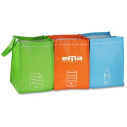 View a larger, more detailed picture of the Recycling Bin Tote Set