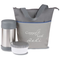 View a larger, more detailed picture of the Lunch Bag Set w Storage Containers