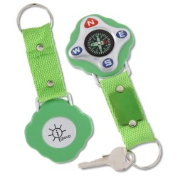 View a larger, more detailed picture of the Navigate Compass Key Tag