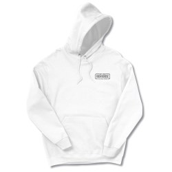 View a larger, more detailed picture of the FOL Best 50 50 Hoodie - Screen - White